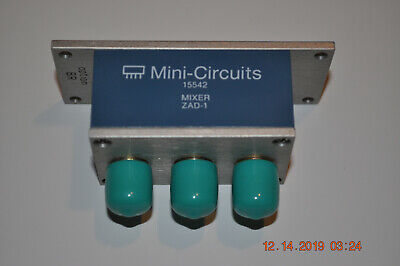 Mini-circuits Zad-1br Coaxial Frequency Mixer With Bracket Option - Bnc - Nos