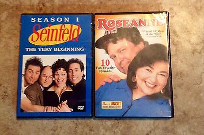 Seinfeld Season 1 DvD And Roseanne 10 Favorite Episodes DvD Combo Lot Pre Owned ()