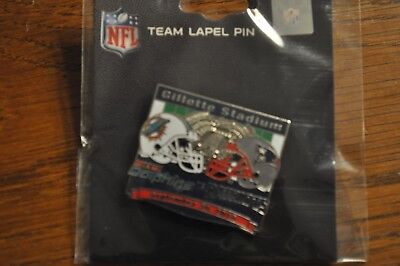 New England Patriots VS Miami Dolphins Game Day Pin September 30, 2018