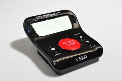 Call Blocker CPR V5000 Landline Block All Robocalls, Nuisance Call, Scam Calls