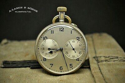 Rare A. Lange & Söhne Glashutte  KriegsMarine KM WW2 Military watch Chronograph
