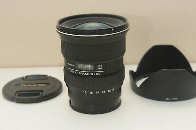 Used Tokina AT-X PRO 11-16mm f/2.8 SD MF DX IF AF Wide Lens for Sony SAL A-mount