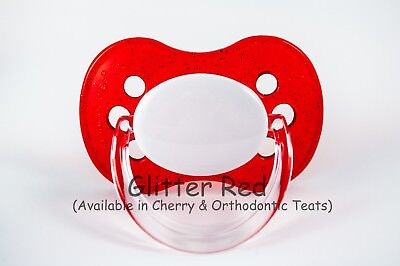 Prince Crown Sizes /& Colours All Teats Personalised DUMMY PACIFIER Soother