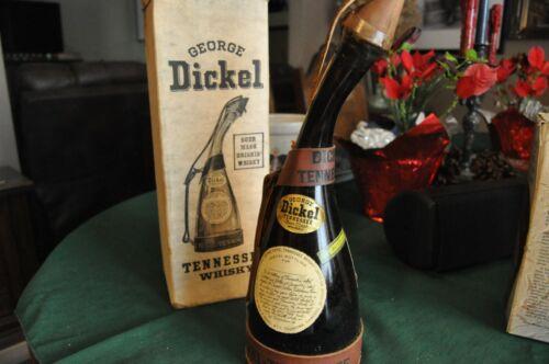 Vintage George Dickle (Star Trek) Whisky Bottle....Original Box!