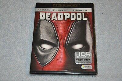 Deadpool 4K Ultra HD + Blu-Ray + Digital Marvel Movie