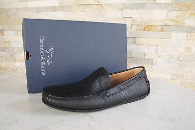 Usado, Harmont & Blaine Talla 43 Zapatillas Mocasines Zapatos Negro Nuevo segunda mano  Embacar hacia Spain