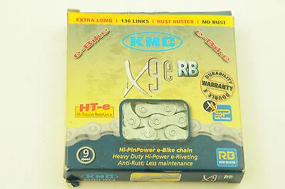 """10-Fold Silver Black CONTEC Chain Classic C.10 1//2/"""" x 11//128/"""" 5//64/"""""""