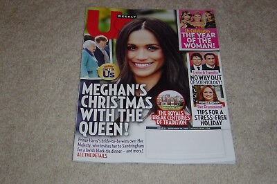 Meghan Markle   Christmas With The Queen December 18 2017 Us Weekly Magazine  51