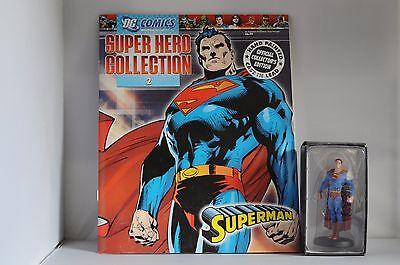 EAGLEMOSS DC SUPER HERO FIGURINE COLLECTION NO.2 SUPERMAN