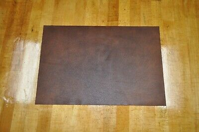 """NEW! Soft, Thin Brown Craft Leather Piece 12"""" by 18"""" 1.5 square feet"""