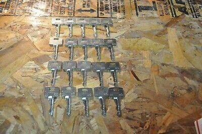Lot Of 20 Lot Of Assa Twin Exclusive 6000 Keys Ss Prison Jail Detention Lock