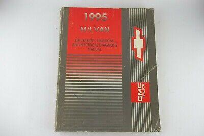 OEM Factory 1995 Chevrolet M/L VAN ASTRO SAFARI Service Shop Repair Manual