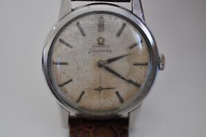 Vintage Omega Seamaster caliber 268 watch with sub second case ref 14389-12-CSP
