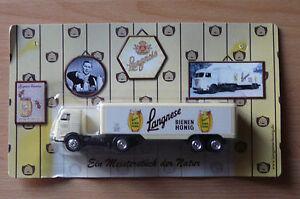 Modell LKW Bier Truck Bierlaster Oldtimer Langnese Honig Nostalgie  HS 10