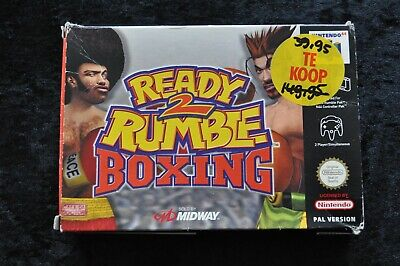 Ready 2 Rumble Boxing Nintendo 64 N64 Boxed PAL
