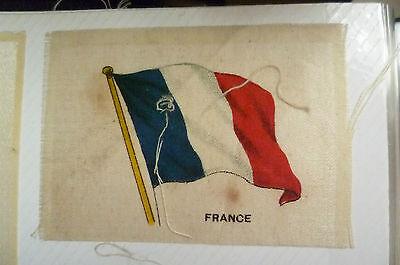B.D.V. Cigarettes Silk FLAG- FRANCE FLAG (6.5x4.5 cm)