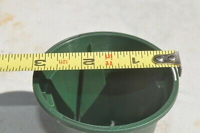 slotted Nursery heavy duty 3 in  Plastic pot   good for orchids Heavy Duty Nursery Pot
