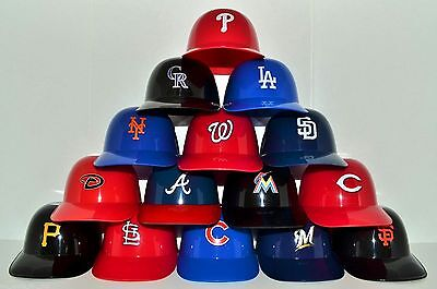 Home Ice Cream Sundae (New NATIONAL LEAGUE Baseball COMPLETE SET (15) Ice Cream SUNDAE HELMETS Bowl Cup )