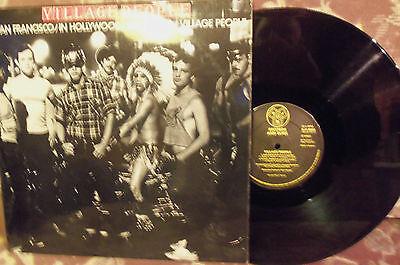 VILLAGE PEOPLE - SAN FRANCISCO - 4 TRACK EP - A1/B1 MATRIX - £6