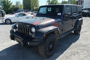 2017 Jeep WRANGLER UNLIMITED, 2 TOITS WINTER EDITION, GPS