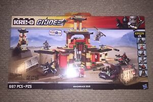 GI Joe Kreo Arashikage Dojo sealed