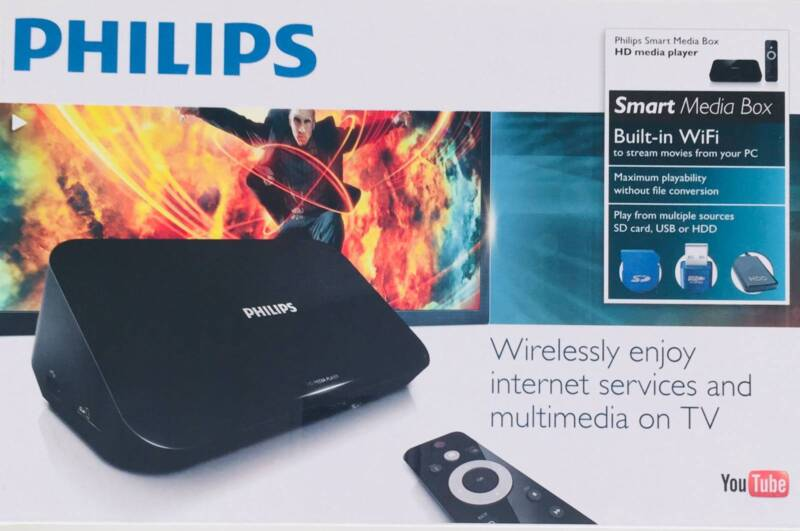 Phillips Smart Media box & HD Media Player | TV Accessories