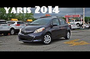 2014 Toyota Yaris LE,MANUELLE