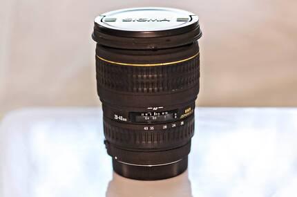 Sigma Lens 20-40mm f/2.8 EX DG Aspherical for Canon