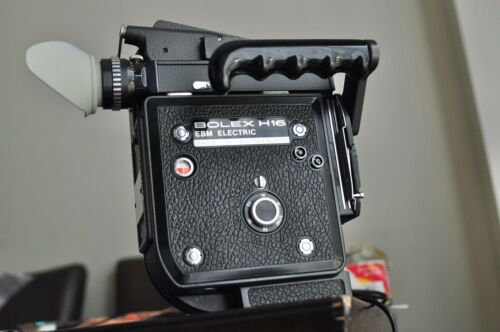 Bolex H16 EBM camera body with lots and new battery recent CLA