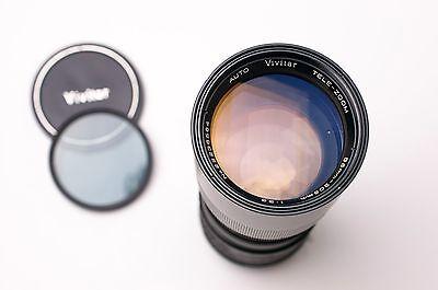 Auto Vivitar Tele Zoom 85 205Mm F 3 8 Telephoto Lens For Minolta Md Kino   2182