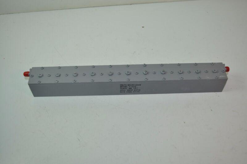 Delta Microwave Bandreject Filter 2795 MHz  210 MHz Model# S2909