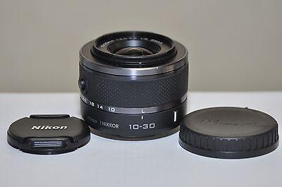Nikon 1 Nikkor  10-30mm f/3.5-5.6 VR Lens (Black) for Nikon 1 J1 J3 J4 J5 V1 V2