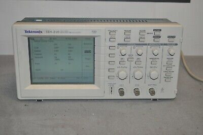 Tektronix Tds 210 Two Channel Digital Oscilloscope Tds210 Used Free Shipping
