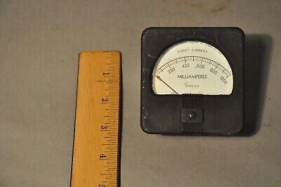 Simpson Dc Milliamperes 0-1000 Vintage Meter Gauge
