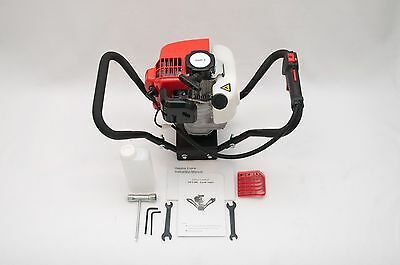 Hand-held Post Hole Digger Earth Auger Head Only 52cc 2.3hp Epa-certified