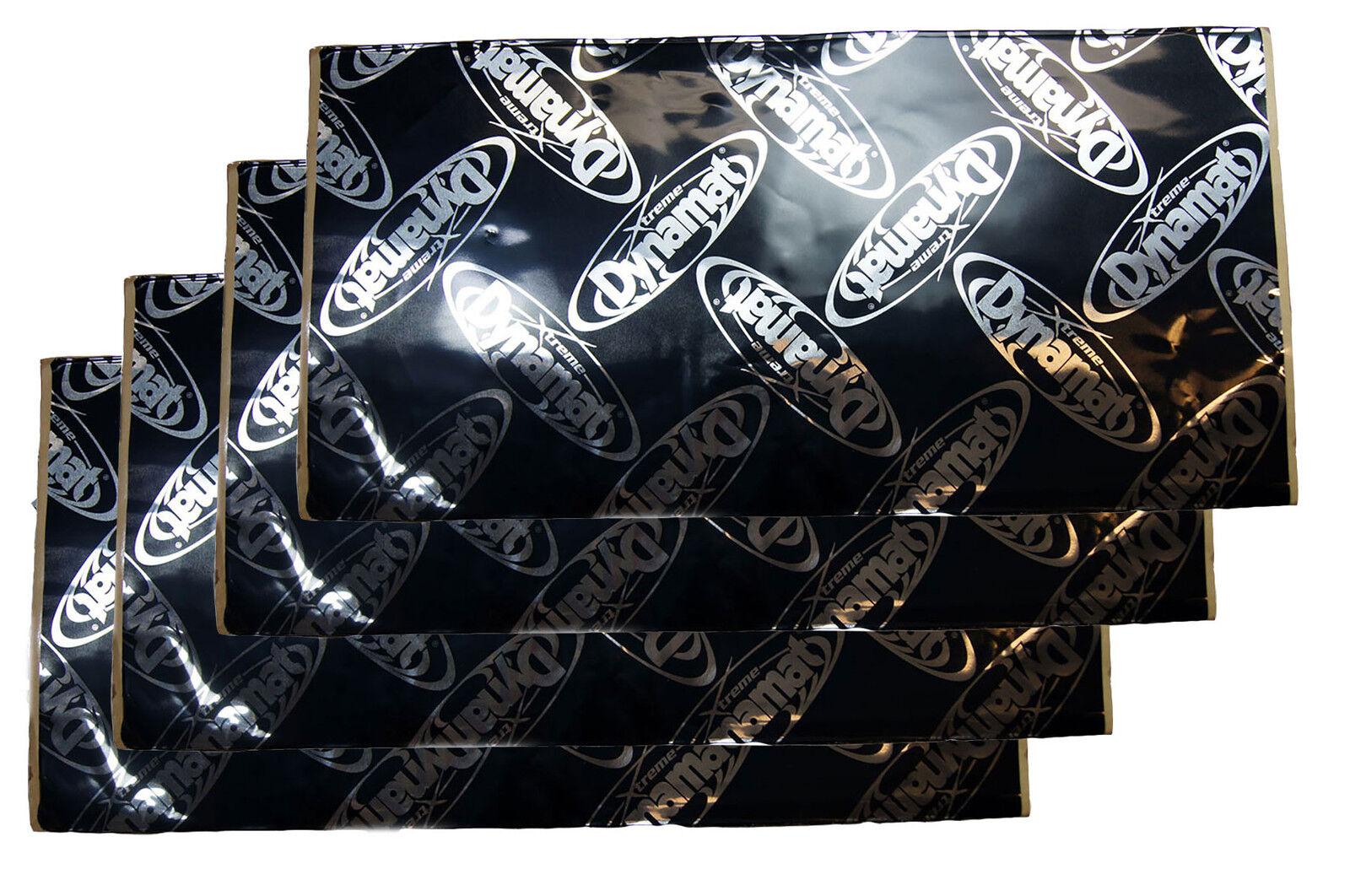 Dynamat Xtreme Extreme Paquete a granel 6 EA Hojas 24 pies cuadrados cantidad 6
