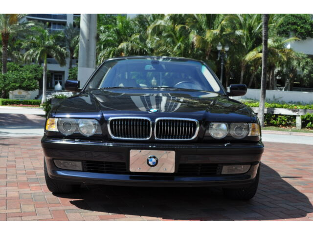 2001 bmw 740il sport package fl car 2 owner navigation 70k. Black Bedroom Furniture Sets. Home Design Ideas