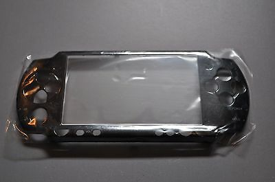 Psp Faceplates (Replacement Front Faceplate for Sony PSP 2001 - Black )
