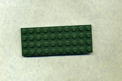 LEGO 3030 GRUNDPLATTE BAUPLATTE GR N DKGREEN 4 X 10