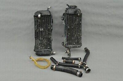 1991 YAMAHA YZ250 YZ 250 Radiator Set Left Right Cooling Lines Line