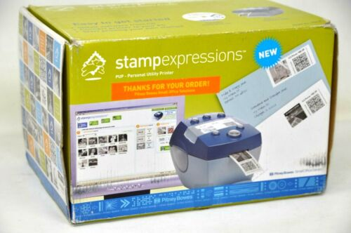 Pitney Bowes StampExpressions PUP printer 770-8 NEW never used