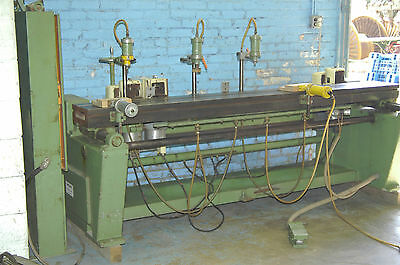 Maka 3 Head Horizontal Chisel Mortiser For 8 Foot Doors Rdb5 Rebuilt Heads