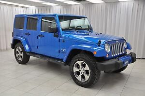 2016 Jeep Wrangler SAHARA UNLIMITED TRAIL RATED 4x4 SUV w/ NAV,