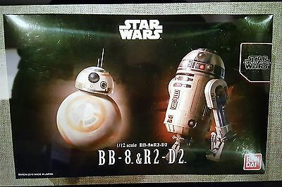 Star Wars Bb8 R2d2 1 12 Scale Model Kit By Bandai