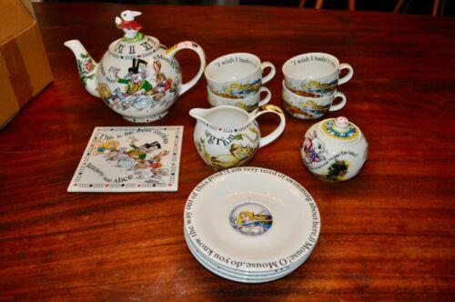 Cardew Alice In Wonderland Tea Set
