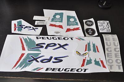 stickers peugeot 103 SPX couleur de Italie