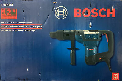 Bosch Rh540m 1-916 Sds-max Combination Rotary Hammer With Carrying Case