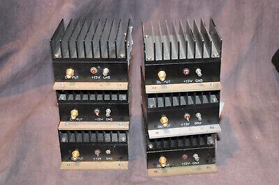Mini-circuits Zhl-1042j Rf Amplifier 10 To 4200 Mhz 6 Pcs As-is