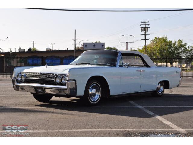1962 Lincoln Continental 4 Door Convertible Stock 30900