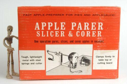 Vintage Apple Parer Slicer Corer Peeler New In Box